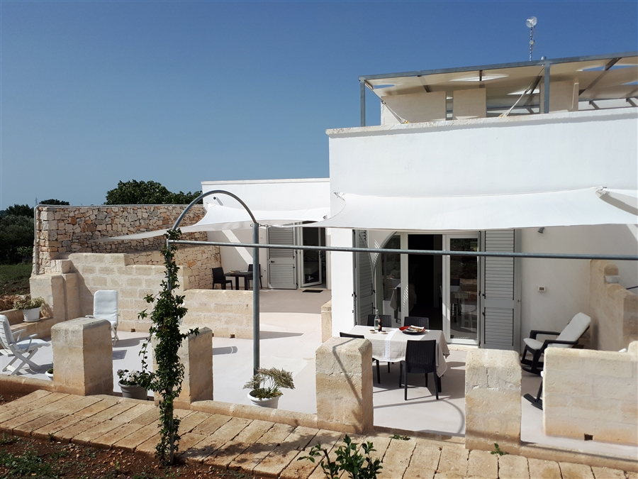 Masseria Poesia White apartment